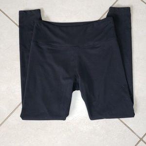 Balance Collection black leggings size medium